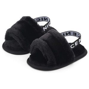 Other - Baby Fur Slides 6-12mo